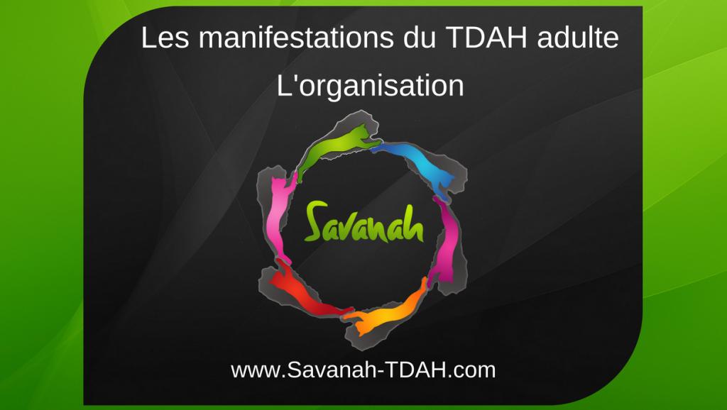 TDAH organisation